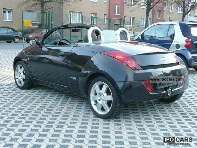 2004 ford streetka 1 6 elegance leather climate car. Black Bedroom Furniture Sets. Home Design Ideas