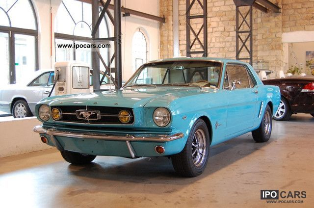 Ford  Mustang Coupe V8 H-plates 1965 Vintage, Classic and Old Cars photo