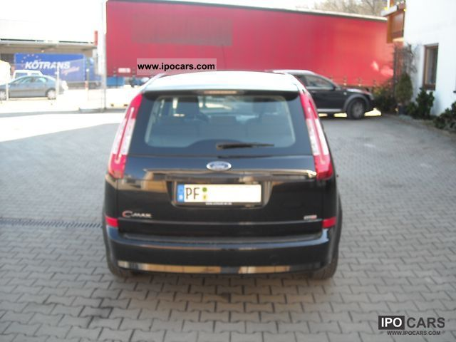 2007 ford c max 1 6 tdci ambiente car photo and specs. Black Bedroom Furniture Sets. Home Design Ideas