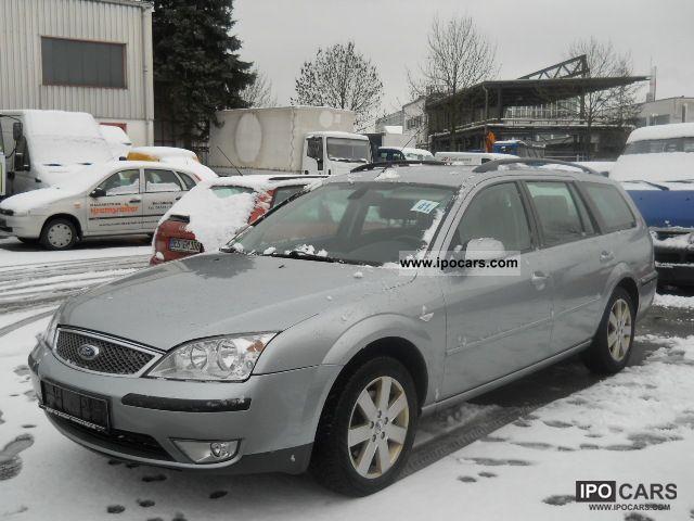 2005 Ford  2.0 TDCi Ghia climatron tournament-6-speed Euro 4 Estate Car Used vehicle photo