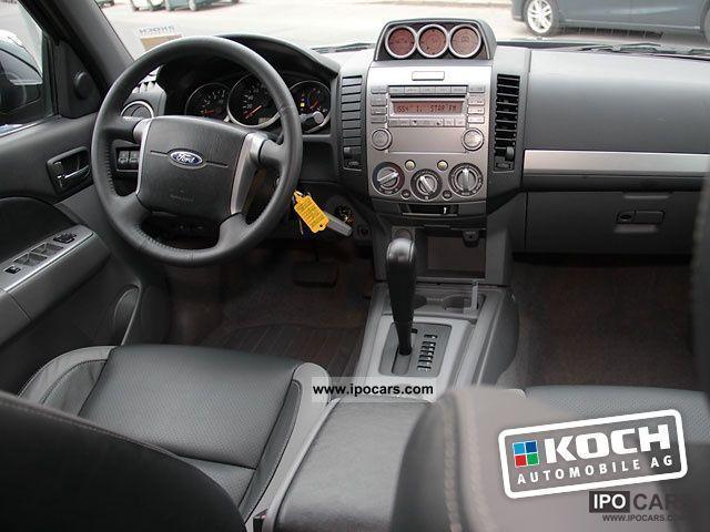 2011 Ford Ranger 2 5 Tdci Xlt Doka Automatic Leather Car