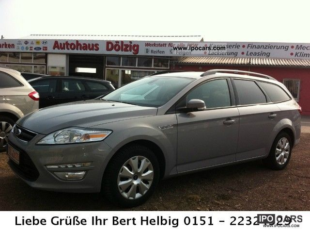2011 Ford  Mondeo TDCi Winter Package & LED light Estate Car Employee's Car photo