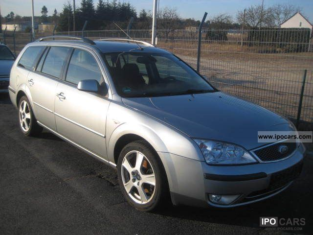 2003 ford mondeo 2 0 ghia tournament 16 9 navi cruise car photo and specs. Black Bedroom Furniture Sets. Home Design Ideas