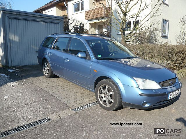 2003 Ford  Mondeo 2.5 V6 tournament trend Estate Car Used vehicle photo