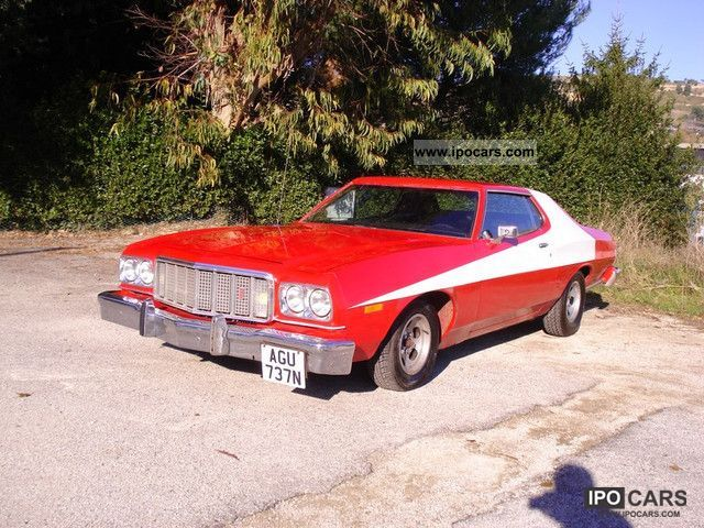 Ford Gran Torino Sports Car Coupe