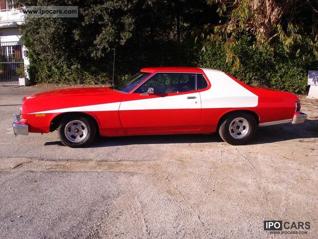 1975 ford gran torino car photo and specs. Black Bedroom Furniture Sets. Home Design Ideas