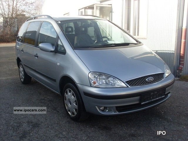 2003 Ford  Galaxy / 1,9 / climate / ocean system / heated seats Van / Minibus Used vehicle photo