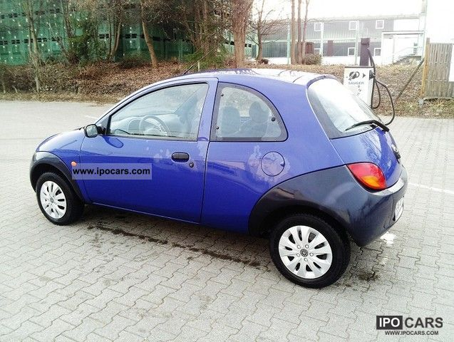 1998 ford ka blue line car photo and specs. Black Bedroom Furniture Sets. Home Design Ideas