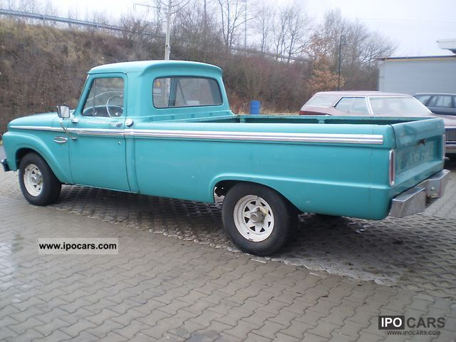 1966 Ford  f100 Off-road Vehicle/Pickup Truck Classic Vehicle photo