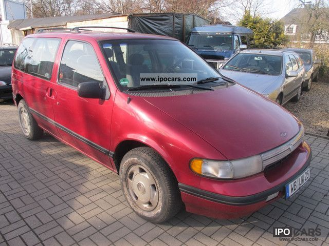 1992 Ford  Mercury 7Sitzer Webasto heater Van / Minibus Used vehicle photo
