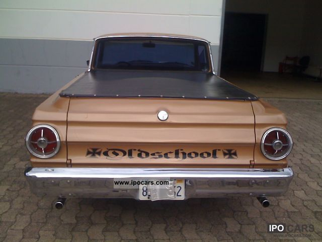 Ford  Ranchero 5.0 ltr. V8! Oldschool! Air! 1965 Vintage, Classic and Old Cars photo