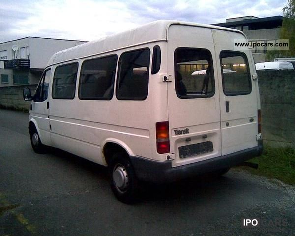 2000 ford transit ft 9 seater maxi car photo and specs. Black Bedroom Furniture Sets. Home Design Ideas