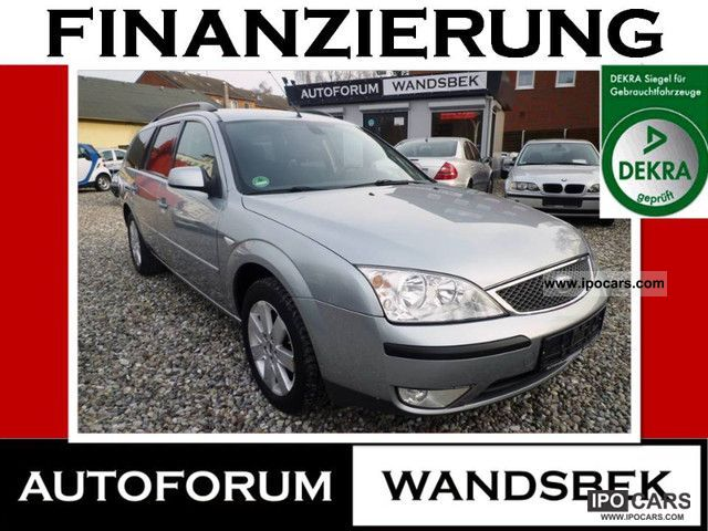 2006 Ford  Mondeo 2.0 TDCI Klimaaut first * RATE MANUAL 95 / MONTH Estate Car Used vehicle photo