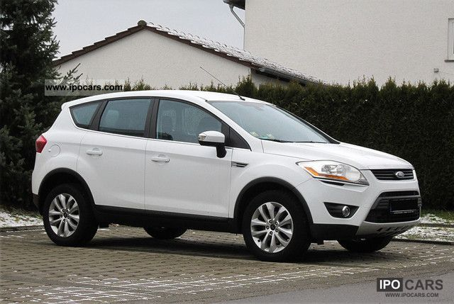 2010 Ford  Kuga 2.0 TDCi Titanium Navi / dt Fzg.! Off-road Vehicle/Pickup Truck Used vehicle photo