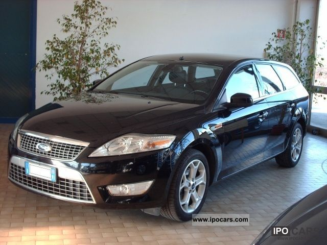 2010 ford mondeo 2 0 titanium dpf tdci 140 sw car photo and specs. Black Bedroom Furniture Sets. Home Design Ideas