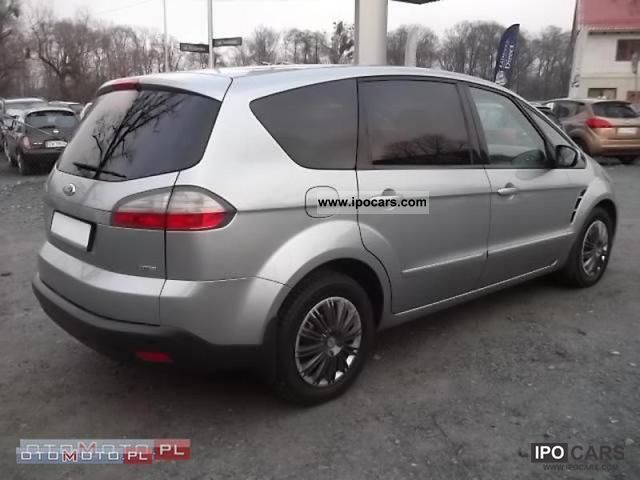 2007 ford s max tdci 140km x gold salon polska car photo and specs. Black Bedroom Furniture Sets. Home Design Ideas