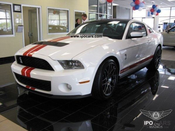 2011 Ford  Mustang Shelby GT500 SVT Performance 2011 EU Sports car/Coupe New vehicle photo
