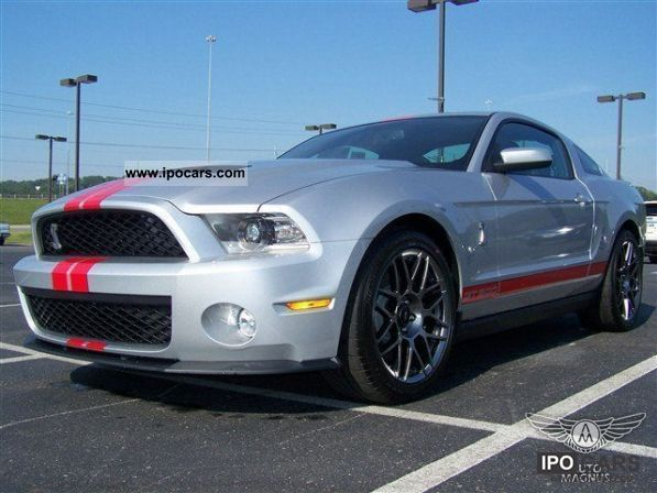 2011 Ford  5.4L V8 2012 Mustang Shelby GT500 SVT Per PKG Sports car/Coupe New vehicle photo