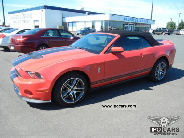 2011 Ford  Mustang Shelby GT500 5.4L V8 2011 EU warranty Cabrio / roadster Used vehicle photo