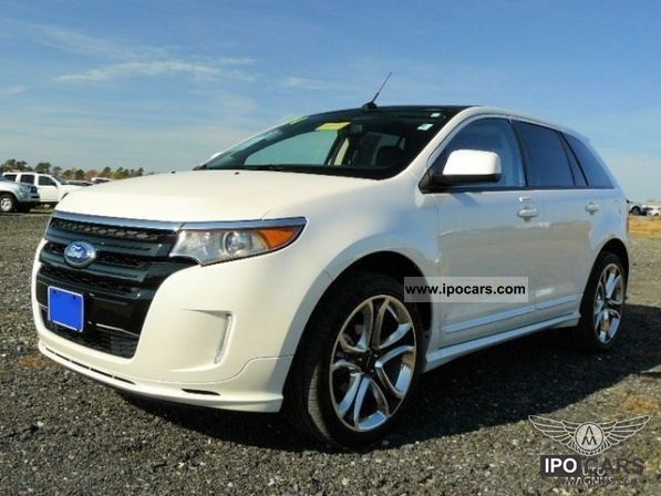 Ford Edge Sport  Front Wheel Drive Eu Guarantee Off Road Vehicle Pickup Truck