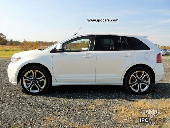 ford edge sport  front wheel drive eu guarantee car photo  specs