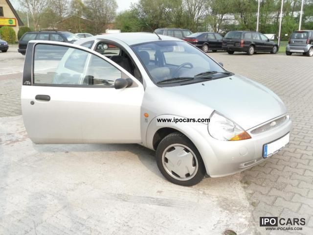 2000 Ford  Ka 1.3 Power and air conditioning ABS wheels TÜV 1 * / 2013 * Small Car Used vehicle photo
