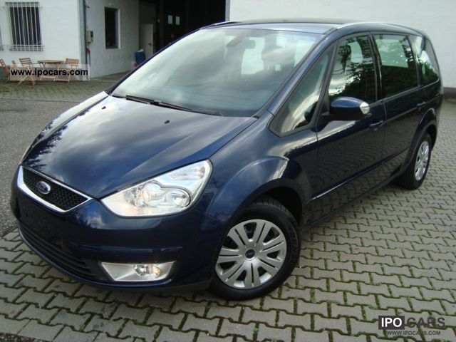 2009 Ford  Galaxy 2.0 TDCi DPF Klimaaut * SHZ * 7 seater * 85tkm * Van / Minibus Used vehicle photo