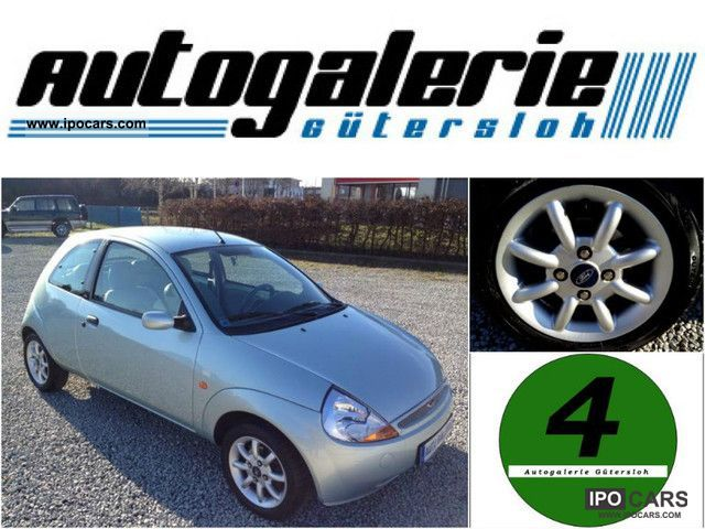 2003 Ford  * Ka-1.HAND LEATHER CHECKBOOK ALUMINUM CLIMATE ALWETTERREI Small Car Used vehicle photo