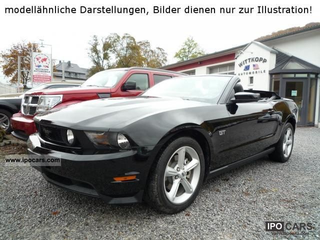 2011 Ford  Mustang V8 GT Premium Convertible Mod 2013 Cabrio / roadster New vehicle photo