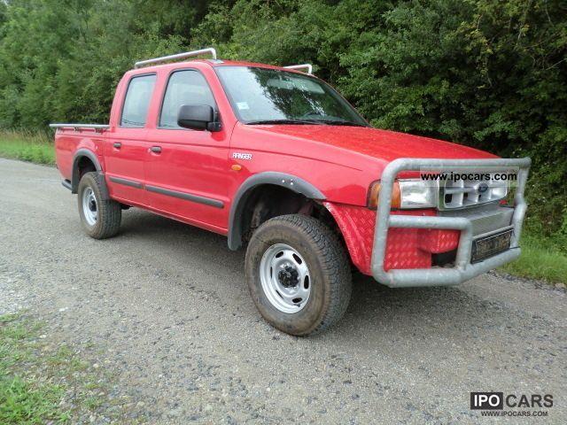 2000 Ford  Ranger Pickup 4x4 2.5 TD Doka 2.Hd AHK 5Seats Off-road Vehicle/Pickup Truck Used vehicle photo