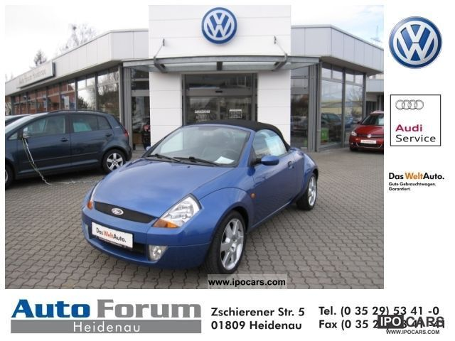 2005 Ford  Streetka 1.6 Elegance Sitzheiz climate. RCD airbag Cabrio / roadster Used vehicle photo