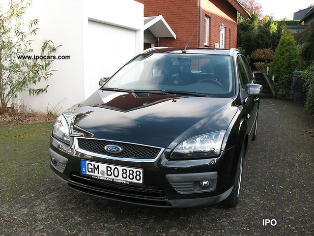 2006 ford focus turnier 2 0 tdci sport car photo and specs. Black Bedroom Furniture Sets. Home Design Ideas