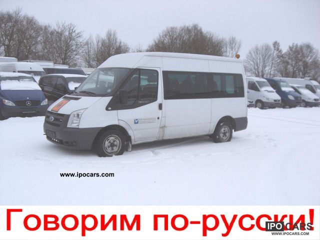 2007 Ford  Transit 85 T 280 AIR 9-seater 1.HAND Van / Minibus Used vehicle photo