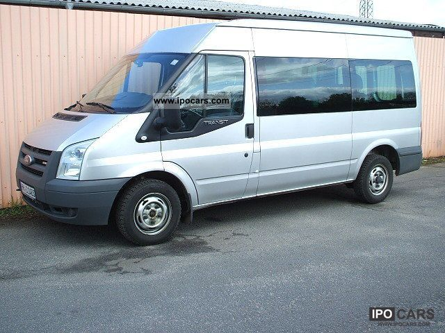 2010 Ford  FT 85T € 300 TDCi Trend Line -9 seats, climate Van / Minibus Used vehicle photo