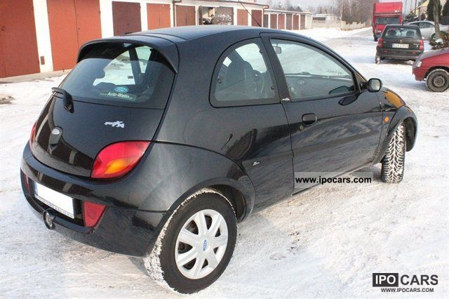 2005 ford ka sport car photo and specs. Black Bedroom Furniture Sets. Home Design Ideas