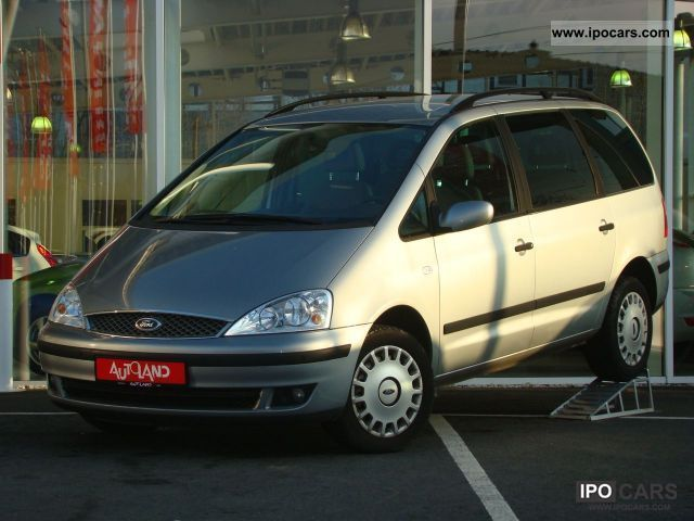 2004 Ford  Galaxy 2.3 automatic climate control navigation Frontscheibenheiz Van / Minibus Used vehicle photo
