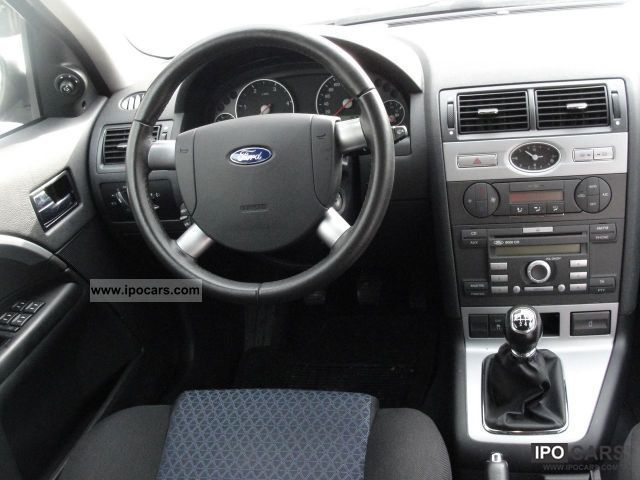 Ford Mondeo Tdci Futura X Aluminum Climate Control Lgw on Ford 3 0 Liter V6 Engine