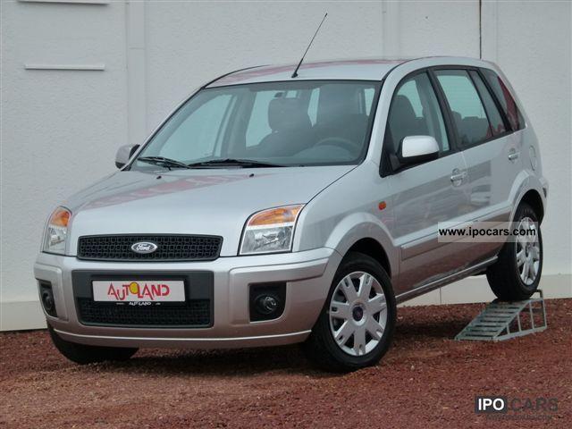 2011 Ford  Fusion 1.4 16V (€ 5) Air aluminum front plates Small Car New vehicle photo