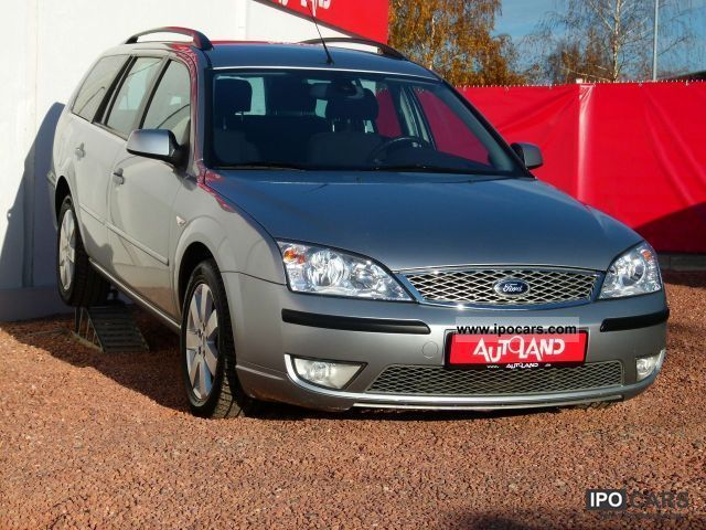2006 ford mondeo 16v combi automatic transmission a car photo and specs. Black Bedroom Furniture Sets. Home Design Ideas