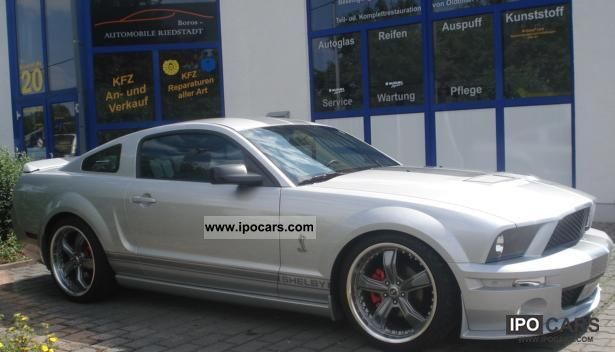 2008 Ford Mustang Shelby Gt500 4 0 Clone Car Photo And Specs