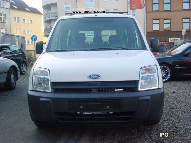2005 Ford  TOURNEO CONNECT TDCI, AIR CONDITIONING, 5 SEATS, trailer hitch ... Van / Minibus Used vehicle photo