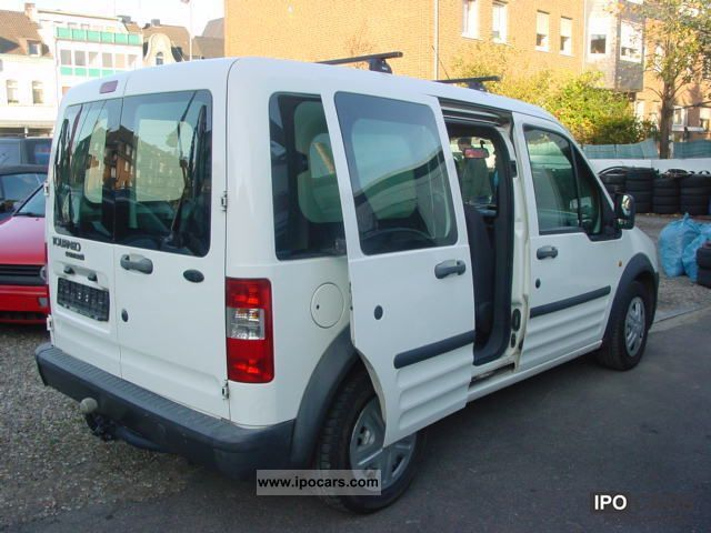 Ford Tourneo Connect Tdci Air Conditioning Seats Trailer Hitch Lgw