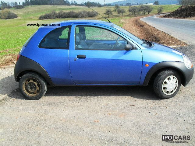 1997 Ford  Ka, climate, technical approval, winter tires well maintained, Small Car Used vehicle photo