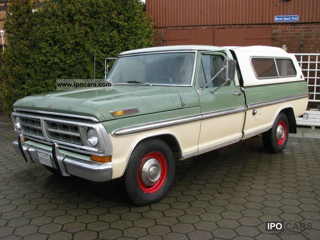 Ford  F 100 / F 250 Ranger XLT fresh Arrivals 1971 Vintage, Classic and Old Cars photo