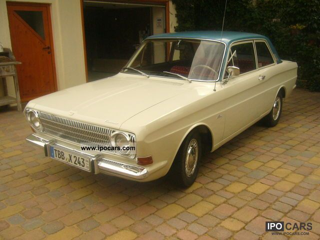 Ford  Taunus 12m P6 1967 Vintage, Classic and Old Cars photo