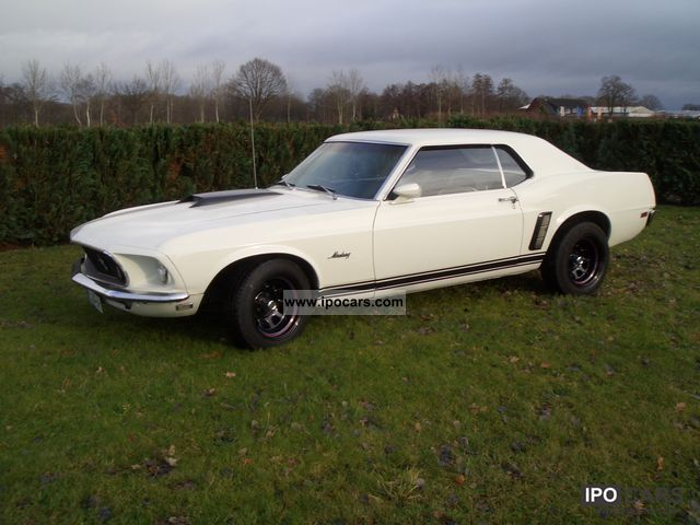 Ford  '69 Mustang Coupe 6 cylinder 4.1 TOP H-approval 1969 Vintage, Classic and Old Cars photo