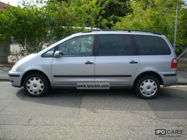 2002 Ford  Galaxy 1.9 TDI 6-seater air-finesse SHZ Van / Minibus Used vehicle photo