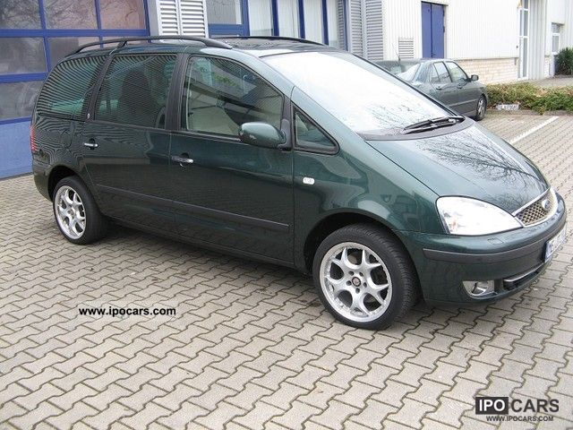 Ford  Galaxy V6 Aut. Ghia, Prins VSI LPG, VIDEO, full! 2004 Liquefied Petroleum Gas Cars (LPG, GPL, propane) photo