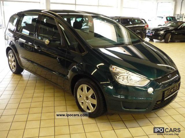 2007 Ford  S-Max 2.0 TDCi DPF Ambiente/7-SITZER/PDC/AHK Van / Minibus Used vehicle photo