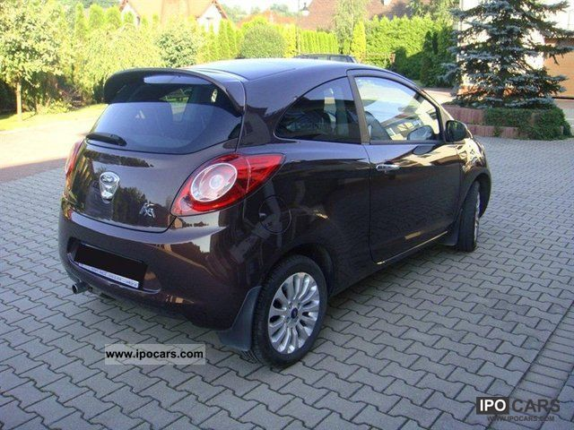 2010 ford ka titanium plus car photo and specs. Black Bedroom Furniture Sets. Home Design Ideas
